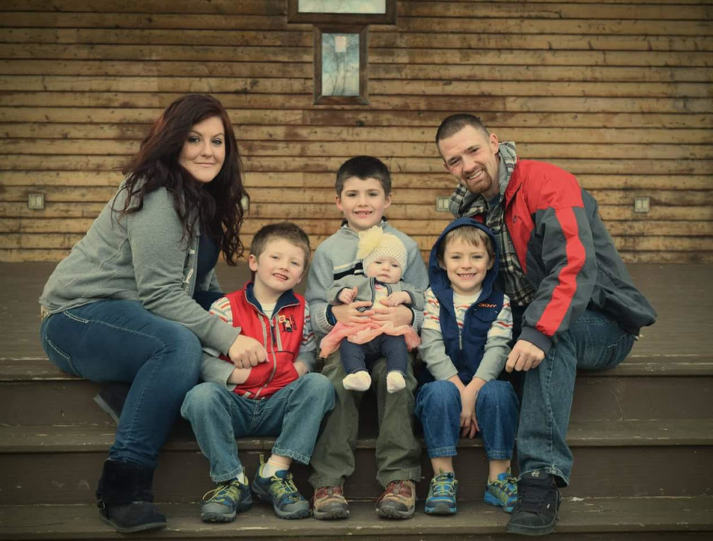 kristina family photo