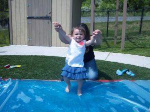 Maci as a young toddler